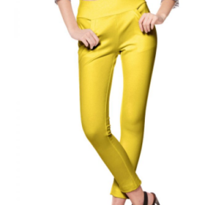 Mustard Stretch Pants