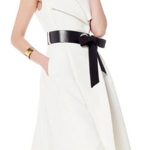 Belted Boss Lady Dress